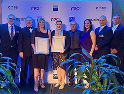 GMS team awarded at state and national Project Management Achievement Awards
